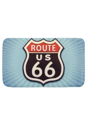 Badematte Route 66