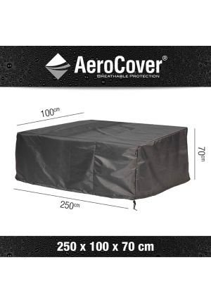AeroCover® Housse de protection Banc lounge XL l 250 x p 100 x h 70 cm