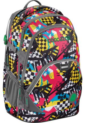 COOCAZOO® Rucksack EvverClevver2 Checkered Bolts