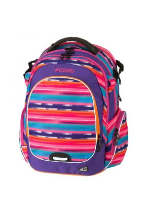 WALKER Rucksack Campus Wizzard Purple Streak
