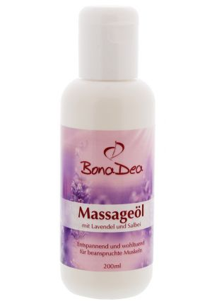 BonaDea Massageöl Lavendel Salbei 200 ml