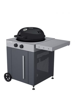 "Gas-Kugelgrill ""Arosa 570 G"",  Grey Steel"
