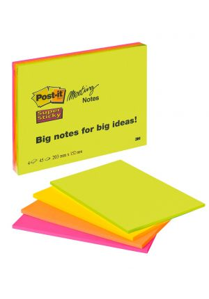 1 Pack Post-it Big notes Notizzettel