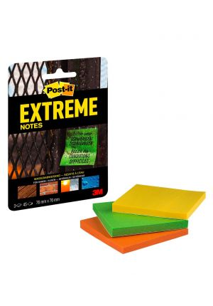 1 pack de feuilles Post-it Extreme